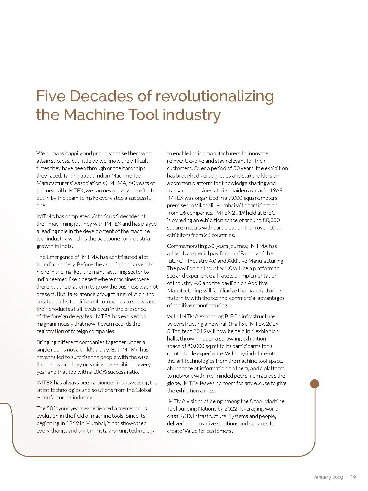 Machine Maker January 2019 Digital Edition